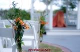Set up of ceremony