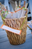 Parasols for Weddings - Thoughtful items for your guests make them feel you cared.. Parasols shield them from the sun at an outdoor wedding.